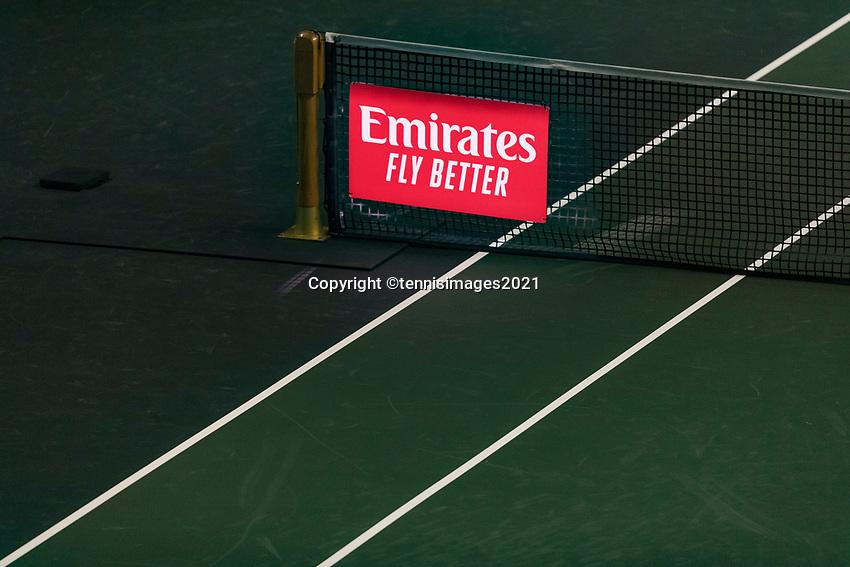 Rotterdam, The Netherlands, 2 march  2021, ABNAMRO World Tennis Tournament, Ahoy, First round doubles: Robin Haase (NED) / Matwe Middelkoop (NED) vs. Nikola Mektic (CRO) / Mate Pavic (CRO).<br /> Photo: www.tennisimages.com/henkkoster