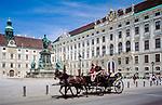 Austria, Vienna, Fiakerl at the Hofburg | Oesterreich, Wien, mit dem Fiakerl durch die Hofburg