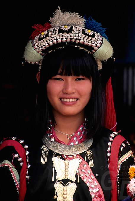 Northern Thailand Muang Hill Tribes. Images from the Book Journey Through Colour and Time