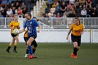 Kent FA Under 16 Girls Cup Final. Maidstone United (yellow & black) V Tankerton (blue & white)