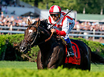 August 24, 2019 : Annals of Time #7, ridden by Javier Castellano, wins the Sword Dancer Stakes during Travers Stakes Day at Saratoga Racecourse in Saratoga Springs, New York. Scott Serio/Eclipse Sportswire/CSM