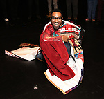 """E. Clayton Cornelious during the Legacy Robe honoring E. Clayton Cornelious for """"Ain't Too Proud"""" at the Imperial Theatre on 3/20/2019 in New York City."""