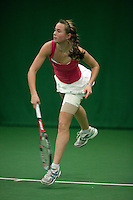 6-12-09, Almere, Tennis, REAAL winterjeugdcircuit, Masters, Marlou Kluiving