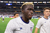 DALLAS, TX - JULY 25: Gyasi Zardes of the United States during a game between Jamaica and USMNT at AT&T Stadium on July 25, 2021 in Dallas, Texas.