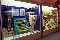 Displays at the Lyman Museum in Hilo.  The museum is a missionary home from the 1800s, and the site also has scientific and Hawaiian culture galleries