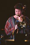 Ray Anderson, Nov 1990 : Ray Anderson performing in Tokyo, Japan.
