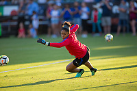 Carson, CA - Thursday August 03, 2017: Abby Smith during a 2017 Tournament of Nations match between the women's national teams of the United States (USA) and Japan (JAP) at StubHub Center.