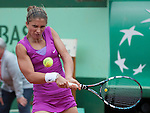Sara Errani (ITA) wins at Roland Garros in Paris, France on June 1, 2012