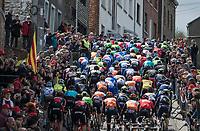 peloton up the iconic Côte de Saint-Roch / Houffalize<br /> <br /> 103rd Liège-Bastogne-Liège 2017 (1.UWT)<br /> One Day Race: Liège › Ans (258km)