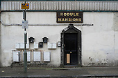 Nodule Mansions, a privately rented mansion block in West Hendon, London.