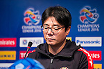 Hwang Sun-hong, manager of FC Seoul, attends a press conference ahead of their AFC Champions League 2016 Semi Final match against Jeonbuk Hyundai Motors (KOR) at Seoul World Cup Stadium on 18 October 2016, in Seoul, South Korea. Photo by Victor Fraile / Power Sport Images