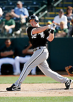 Brian Anderson  -  Chicago White Sox - 2009 spring training.Photo by:  Bill Mitchell/Four Seam Images