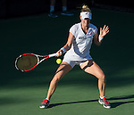 Allison Riske, USA loses to Hiroko Kuwata (JPN) 6-0, 7-5 at the CitiOpen in Washington, D.C., Washington, D.C. District of Columbia on July 28, 2014.