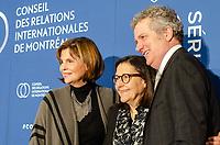 Louise Lantagne,Presidente et chef de la direction, SODEC,  a la tribune du CORIM, le 5 février 2019.<br /> <br /> PHOTO : Agence Quebec Presse