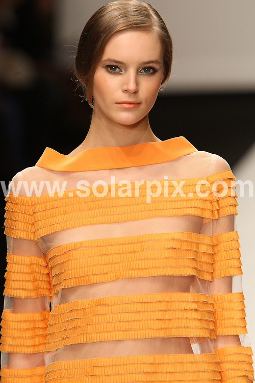 **ALL ROUND PICTURES FROM SOLARPIX.COM**                                             **WORLDWIDE SYNDICATION RIGHTS**                                                                                  Caption:   London Fashion Week.                                                                            ..This pic:  Jasper Conran collection                                                                                      ..JOB REF: 12125      MLW       DATE:  18.09.10                                                        **MUST CREDIT SOLARPIX.COM OR DOUBLE FEE WILL BE CHARGED****MUST AGREE FEE BEFORE ONLINE USAGE**                               **CALL US ON: +34 952 811 768 or LOW RATE FROM UK 0844 617 7637**