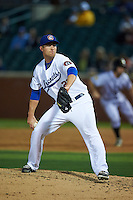 Chattanooga Lookouts pitcher Alex Wimmers (21) delivers a pitch during a game game against the Jacksonville Suns on April 30, 2015 at AT&T Field in Chattanooga, Tennessee.  Jacksonville defeated Chattanooga 6-4.  (Mike Janes/Four Seam Images)
