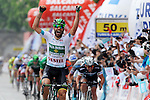 Luis Mas (ESP) Caja Rural-Seguros RGA surprise winner of Stage 8 of the 2015 Presidential Tour of Turkey running 124km from Istanbul to Istanbul. 3rd May 2015.<br /> Photo: Tour of Turkey/Brian Hodes/www.newsfile.ie