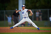 South Dakota State Jackrabbits relief pitcher Riley McSherry (39) during a game against the Northeastern Huskies on February 23, 2019 at North Charlotte Regional Park in Port Charlotte, Florida.  Northeastern defeated South Dakota State 12-9.  (Mike Janes/Four Seam Images)