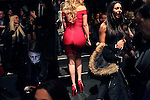 MANHATTAN, NY – FEBRUARY 11, 2016: Guests mingle before the BCBG MaxAzria Women's runway show at the Arc, Skylight at Moynihan Station, on the first day of Fashion Week in Manhattan. <br /> <br /> Assignment ID: 30186224A