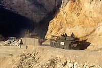 - Centauro armored car of the Italian army on the road of Mostar during NATO intervention in Bosnia of January 1996<br /> <br /> - autoblindo Centauro dell'esercito italiano sulla strada di Mostar durante l'intervento NATO in Bosnia del gennaio 1996