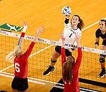 Univeristy of South Dakota at South Dakota State University Volleyball