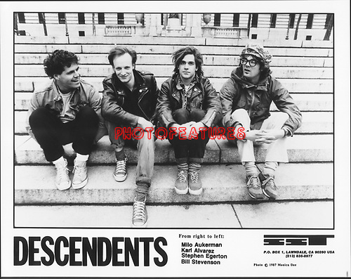 DESCENDENTS..photo from promoarchive.com/ Photofeatures....