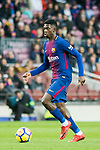 Ousmane Dembele of FC Barcelona in action during the La Liga 2017-18 match between FC Barcelona and Levante UD at Camp Nou on 07 January 2018 in Barcelona, Spain. Photo by Vicens Gimenez / Power Sport Images