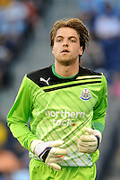 Newcastle United goalkeeper Tim Krul... Sporting Kansas City and Newcastle United played to a 0-0 tie in an international friendly at LIVESTRONG Sporting Park, Kansas City, Kansas.