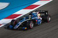 27th March 2021; Sakhir, Bahrain; F2 Grand Prix of Bahrain; 03 Zhou Guanyu (chn), UNI-Virtuosi Racing, Dallara F2, action during the 1st round of the 2021 FIA Formula 2 Championship on the Bahrain International Circuit, in Sakhir, Bahrain -