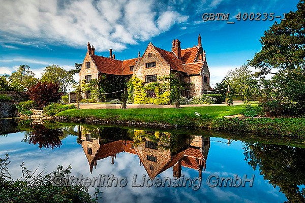 Tom Mackie, LANDSCAPES, LANDSCHAFTEN, PAISAJES, photos,+16th century, Britain, British, East Anglia, England, English, Europe, Hindringham, Hindringham Hall, Norfolk, Tom Mackie, UK+, heritage, historic, history, horizontal, horizontals, manor house, medieval, mirror image, moat, reflecting, reflection, re+flections, stately home, tudor, ukgallery, water,16th century, Britain, British, East Anglia, England, English, Europe, Hindr+ingham, Hindringham Hall, Norfolk, Tom Mackie, UK, heritage, historic, history, horizontal, horizontals, manor house, medieva+,GBTM400235-1,#l#, EVERYDAY