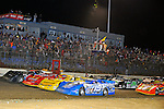 Feb 12, 2011; 9:04:24 PM; Gibsonton, FL., USA; The Lucas Oil Dirt Late Model Racing Series running The 35th annual Dart WinterNationals at East Bay Raceway Park.  Mandatory Credit: (thesportswire.net)