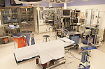 well equipped, empty operating room in urban hospital