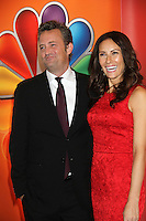 Matthew Perry and Laura Benanti at NBC's Upfront Presentation at Radio City Music Hall on May 14, 2012 in New York City. ©RW/MediaPunch Inc.
