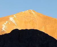Sunrise near Capitol Lake, near Snowmass, Colorado