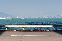 Hong Kong, October 31, Kennedy Town harbour view.       Photo Kees Metselaar