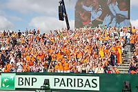 15-09-12, Netherlands, Amsterdam, Tennis, Daviscup Netherlands-Suisse, Dutch supporters