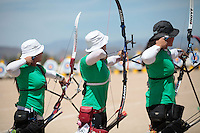 ,durante su prticipacion con el equipo Mexicano femenil de Tiro con Arco que se llevo la medalla de Oro en la prueba de 70 metros   de el  torneo  Arizona Cup 2013 en  BEN Avery. 6 abril 2013 en Phoenix Arizona......during his prticipacion with Mexican women's team archery that took the gold medal in the 70 meter test the Arizona Cup tournament 2013 in Ben Avery. April 6, 2013 in Phoenix Arizona