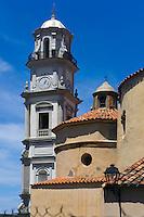 Barockkirche Eglise Saint-Blaise in Calenzana in der Balagne, Korsika, Frankreich