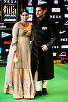 Aftab Shivdasani and Athiya Shetty attends to the photocall of the IIFA Awards in Madrid. June 25. 2016. (ALTERPHOTOS/Borja B.Hojas)