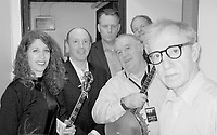 *** EXCLUSIVE Coverage ***<br /> Woody Allen and his New York Jazz Band performing at Hammersmith Apollo in  London, England.<br /> ( Cynthia Sayer, Conal Fowkes, Simon Wettenhall, Jerry Zigmont, Eddy Davis & Woody Allen )<br /> December 19, 2004<br /> Credit: Walter McBride/MediaPunch
