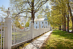 Springtime at the old First Church in Bennington, VT, USA