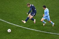 6th June 2021; AAMI Park, Melbourne, Victoria, Australia; A League Football, Melbourne Victory versus Melbourne City; Callum McManaman of the Victory