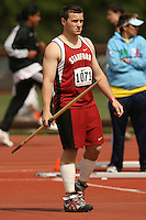 4 April 2007: Daniel Haddock during the Stanford Invitational at Cobb Track and Angell Field in Stanford, CA.