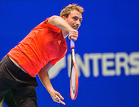 Rotterdam,Netherlands, December 15, 2015,  Topsport Centrum, Lotto NK Tennis, Matwe Middelkoop (NED)<br /> Photo: Tennisimages/Henk Koster