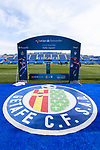 A view of congrats banner for Gaku Shibasaki of Getafe CF and Takashi Inui of SD Eibar during the La Liga 2017-18 match between Getafe CF and SD Eibar at Coliseum Alfonso Perez Stadium on 09 December 2017 in Getafe, Spain. Photo by Diego Souto / Power Sport Images
