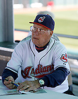 Bob Feller -  Cleveland Indians - 2009 spring training.Photo by:  Bill Mitchell/Four Seam Images