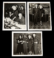 BNPS.co.uk (01202 558833)<br /> Pic: Julien'sAuctions/BNPS<br /> <br /> PICTURED: Marilyn Monroe on her trip to Korea<br /> <br /> Marilyn Monroe's personalised army jacket and ID card have emerged for sale for £80,000. ($100,000)<br /> <br /> The starlet wore the green woollen jacket which is covered in army patches during her famous visit to entertain US troops in Korea in February 1954.<br /> <br /> The name 'Monroe' is in white stitching above the left pocket, and there are black and white photos of her posing in the long sleeved 'medium' sized jacket.<br /> <br /> Her 'Non Combatant's Certificate of Identity' card lists by her real name 'Norma Jeane DiMaggio' and there is a small photo of her in the top right hand corner of the laminated card, as well as her finger print.<br /> <br /> Monroe has signed it and a wealth of personal information is listed, including her date of birth, height, weight, hair colour and blood type. The items are being sold with Los Angeles based Julien's Auctions.