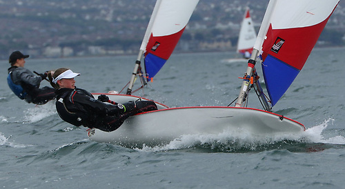 Toppers in action on Belfast Lough. If their 2021 programme goes according to plan, they'll be holding the Worlds at Crosshaven in late July, followed a few days later by the UK Open Nationals at Ballyholme.
