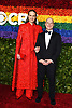 Jordan Roth and husband Richie Jackson attend the 2019 Tony Awards on June 9, 2019 at Radio City Music Hall in New York, New York, USA.<br /> <br /> photo by Robin Platzer/Twin Images<br />  <br /> phone number 212-935-0770