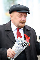 Lenin Impersonator in Red Square, Moscow